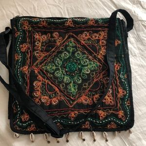 Handbags - Indian cross string bag NWOT